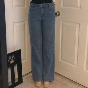 Forever 21 wide leg jeans